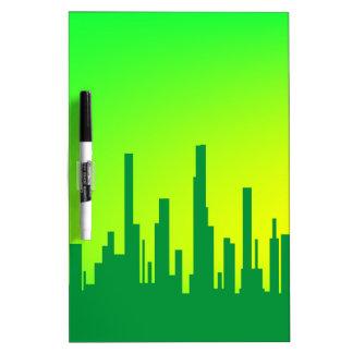 City Greenscape Dry Erase Board