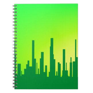 City Greenscape Spiral Notebook