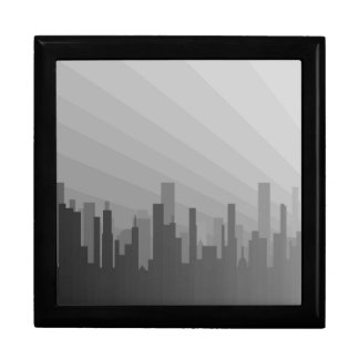City Greyscape Gift Box