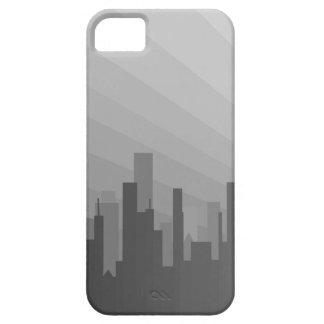 City Greyscape iPhone 5 Cases