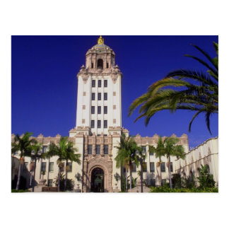 City Hall, Beverly Hills, California, U.S.A. Postcard