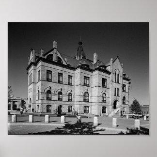 City Hall, Brockton Poster