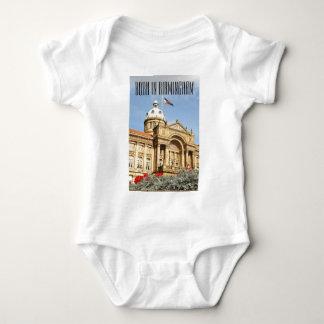 City Hall in Birmingham, England UK Baby Bodysuit