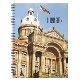 City Hall in Birmingham, England UK Notebook