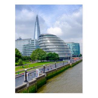 City Hall, London UK Postcard