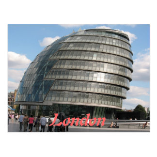 City Hall Mayors Office London UK postcard