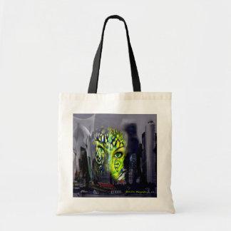 City huntress of the night tote bag