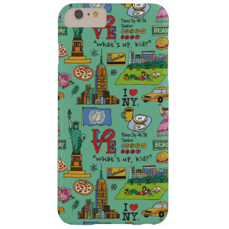 City impression- New York for 6plus or 6splus Barely There iPhone 6 Plus Case