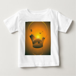 City in a Lightbulb Baby T-Shirt