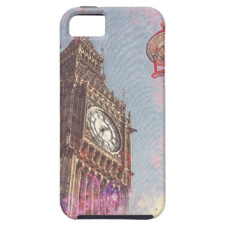 City in Nebula #purple Case For The iPhone 5