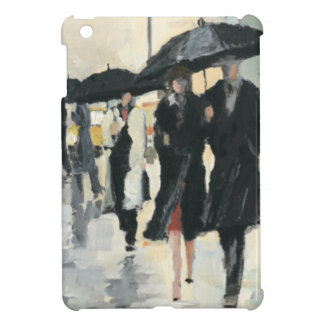 City in the Rain iPad Mini Cover