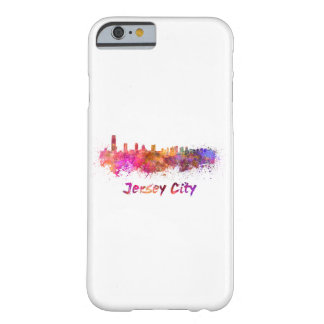 City jersey skyline in watercolor barely there iPhone 6 case