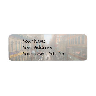 City - Kansas City MO - Petticoat Lane 1906 Return Address Label