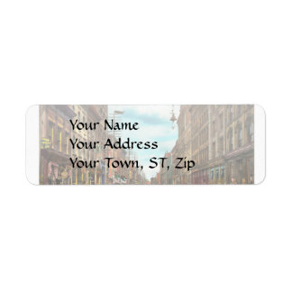 City - Knoxville TN - Gay Street 1903 Return Address Label