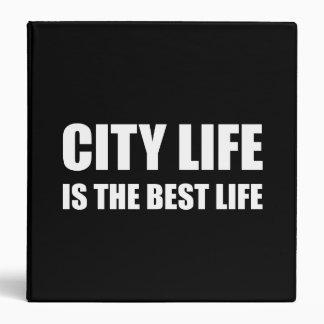 City Life Best Life 3 Ring Binders