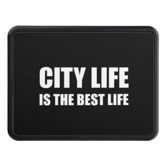 City Life Best Life Trailer Hitch Covers