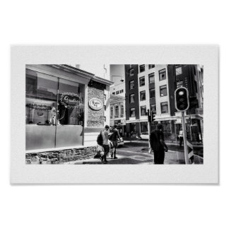 City Life View Street BNW Cape Town Poster