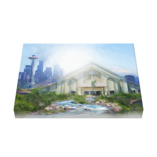 City Light and Life Gallery Wrapped Canvas