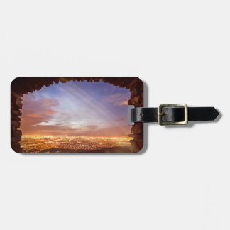 City light luggage tag