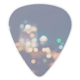 City Lights Guitar Pick