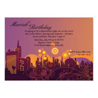 City Lights Invitation