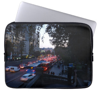 City lights laptop computer sleeves
