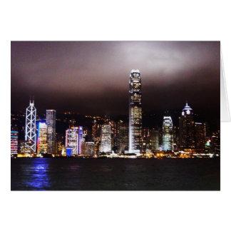 City Lights Notecard