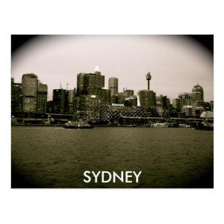 City Lights Postcard