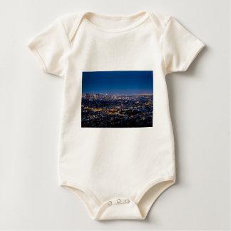 City Los Angeles Cityscape Skyline Downtown Baby Bodysuit