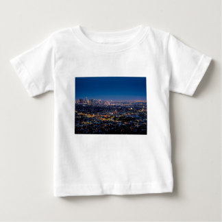 City Los Angeles Cityscape Skyline Downtown Baby T-Shirt