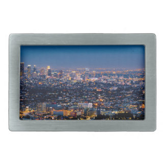 City Los Angeles Cityscape Skyline Downtown Belt Buckles