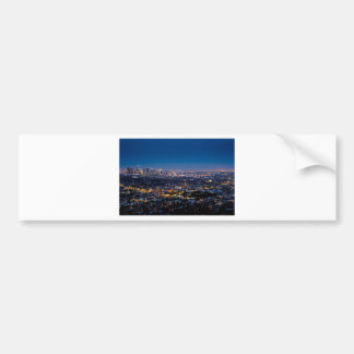 City Los Angeles Cityscape Skyline Downtown Bumper Sticker