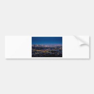 City Los Angeles Cityscape Skyline Downtown Bumper Sticker