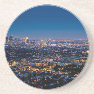 City Los Angeles Cityscape Skyline Downtown Coaster