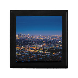 City Los Angeles Cityscape Skyline Downtown Gift Box