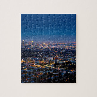 City Los Angeles Cityscape Skyline Downtown Jigsaw Puzzle