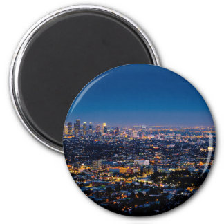 City Los Angeles Cityscape Skyline Downtown Magnet