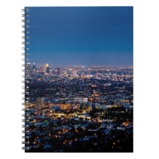 City Los Angeles Cityscape Skyline Downtown Notebook