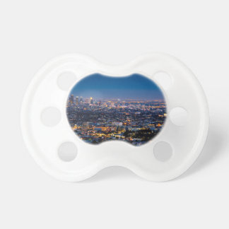 City Los Angeles Cityscape Skyline Downtown Pacifier