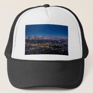 City Los Angeles Cityscape Skyline Downtown Trucker Hat
