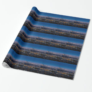 City Los Angeles Cityscape Skyline Downtown Wrapping Paper