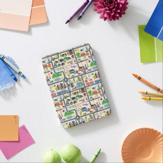 City Map Pattern iPad Mini Cover