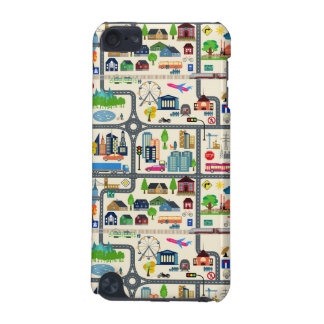 City Map Pattern iPod Touch (5th Generation) Covers