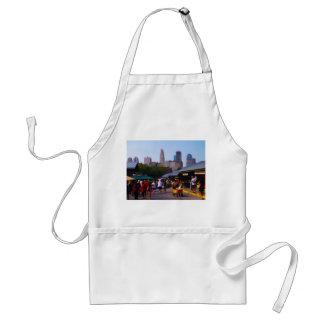 City Market and Downtown Kansas City Skyline Adult Apron