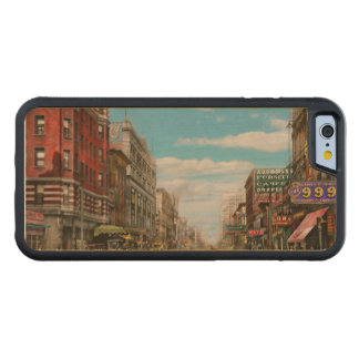 City - Memphis TN - Main Street Mall 1909 Carved Maple iPhone 6 Bumper Case