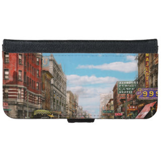 City - Memphis TN - Main Street Mall 1909 iPhone 6 Wallet Case