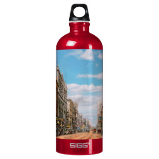 City - Memphis TN - Main Street Mall 1909 Water Bottle