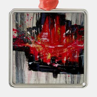 city metal ornament