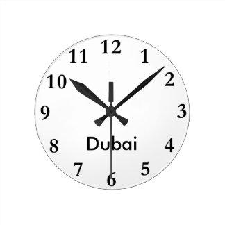 City Name Clock