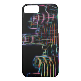 City neon iPhone 8/7 case
